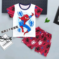 jual [2251091] - Summer Wear Anak Usia 1 - 6 Thn - Motif Spiderman in Action