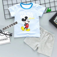 jual [2251101] - Home Suit Anak Usia 1 - 6 Thn - Motif It's All About Mickey