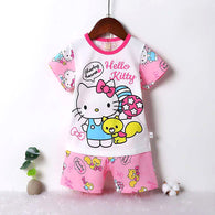 jual [2251160] - Daily Wear Anak Usia 9 Bln - 8 Thn - Motif Kitty Sharing Hearts
