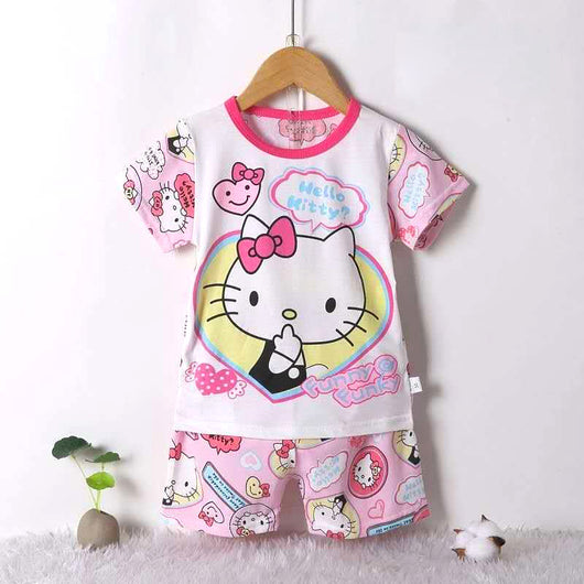 jual [2251180] - Daily Wear Anak Usia 9 Bln - 8 Thn - Motif Kitty is Embarrassed