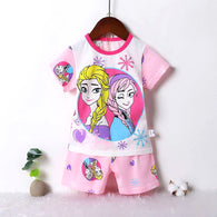 jual [2251181] - Summer Daily Wear Anak Usia 9 Bln - 8 Thn - Motif Princess Frozen