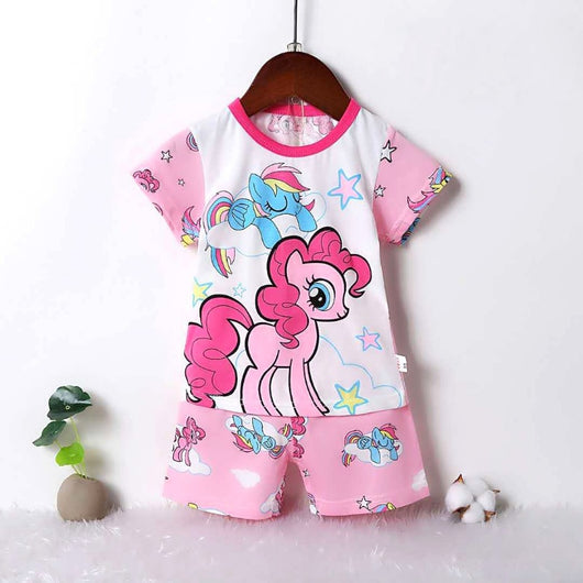 jual [2251214] - Summer Daily Wear Anak Usia 9 Bln - 8 Thn - Motif Pink Little Pony