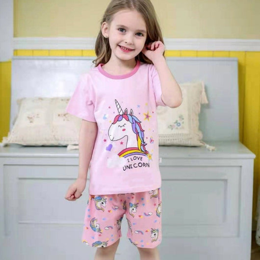 [2251216] - Daily Wear Anak / Setelan Anak - Motif I Love Unicorn