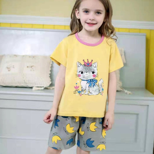 [2251219] - Daily Wear Anak / Setelan Anak - Motif The Ribbon Cat Queen