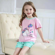 [2251222] - Daily Wear Anak / Setelan Anak - Motif Unicorn With Balloons