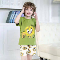 [2251231] - Setelan Anak / Daily Wear Anak - Motif Wise and Decisive Lion