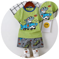 [2251251] - Daily Wear Anak / Setelan Anak  - Motif Two Play Sharks