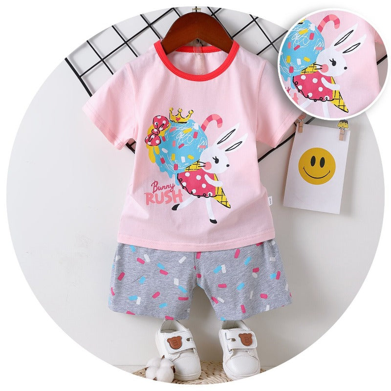 [2251252] - Daily Wear Anak / Setelan Anak  - Motif Rabbit With Ice