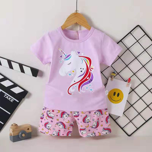 [2251266] - Setelan Anak / Daily Wear Anak - Motif Little Pony Rainbow