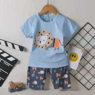 [2251269] - Setelan Anak / Daily Wear Anak - Motif Friendly Lion Species