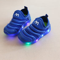 [343102-BLUE] - IMPORT Sepatu / Shoes Anak Unisex Sporty Lights
