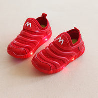 [343102-RED] - IMPORT Sepatu / Shoes Anak Unisex Sporty Lights