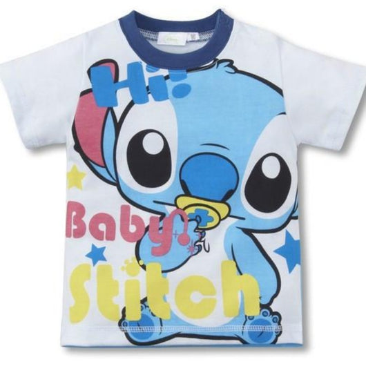 jual [347105] - Atasan / Kaos / T-shirt Anak 2 - 6 Thn - Motif Cartoon Stitch