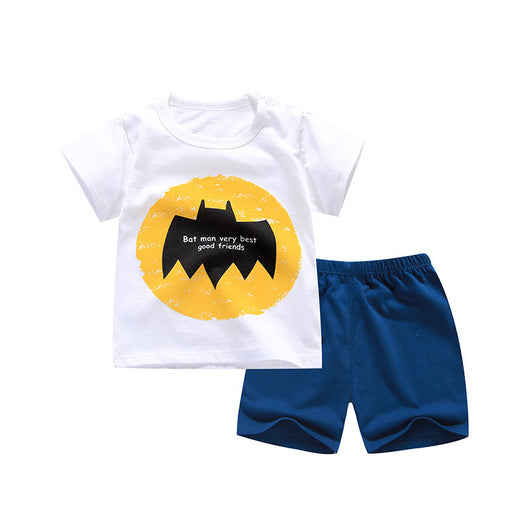 [351148] - Setelan Santai Anak / Baju Harian Import - Motif The Best Batman