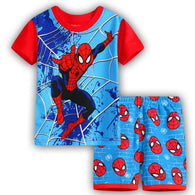 [354379] - Baju Setelan Street Wear Anak Import Sleek Style - Motif Cool Spiderman