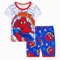 [354424] - Baju Setelan Street Wear Anak Import - Motif Spider Awesome