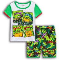 [354432] - Baju Setelan Street Wear Anak Import - Motif Team Turtles