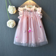 [363119-PINK] - Dress Fashion Anak Perempuan Modis - Motif Small Little Pony