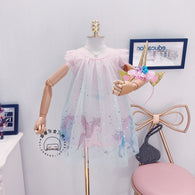 [363140] - Dress Fashion Anak Perempuan Modish / Dress Anak Import - Motif Beautiful Pegasus