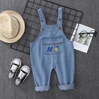 [368210] - Bawahan Overall Trendi Anak Import - Motif Emoticon No