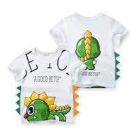 [370115-GREEN] - Baju Atasan Anak Import / Kaos Anak 3D - Motif Good Be Top