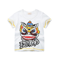 [370147] - Kaos Anak Trendi / Baju Atasan Anak Import - Motif The Lion Be Top