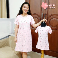 [371337] - Dress / Daster Couple Ibu Anak Import - Motif My Dream