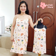 [371359] - Slip Dress / Daster Couple Ibu Anak Import - Motif Fruits Club