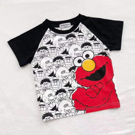 [501118] - Atasan Anak Import / Kaos Anak Kekinian - Motif Elmo And Friends