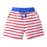 [357155] - Celana Training Anak  / Celana Santai Anak - Motif Red and White Lines