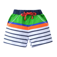 [357151] - Celana Pendek Training Anak Sporty - Motif Striped Color