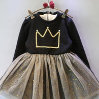 [363249] - Dress Import Fashion Trend Anak Perempuan - Motif Crown Tutu