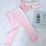 [102256-PINK] - Celana Jogger Anak Import / Celana Training Anak - Motif Solid Color