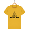 T-shirt en coton bio « Here & Now » pour homme-Homme>Tee-shirts-Tunetoo-Spectra Yellow-XS-Mybouddha