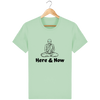 T-shirt en coton bio « Here & Now » pour homme-Homme>Tee-shirts-Tunetoo-Geyser Green-XXS-Mybouddha