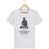 T-shirt en coton bio «Le changement» pour homme, à col rond. Collection Django Ettori.-Homme>Tee-shirts-Tunetoo-Heather Ash-XXS-Mybouddha