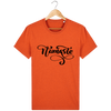 T-shirt en coton bio « Namaste 2 » pour homme-Homme>Tee-shirts-Tunetoo-Black Heather Orange-XS-Mybouddha