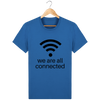 T-shirt en coton bio « We are all connected» pour homme-Homme>Tee-shirts-Tunetoo-Royal Blue-XXS-Mybouddha