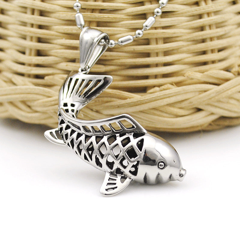Fashion hollow dolphin pendant necklace jewelry for women fish fashion hollow dolphin pendant necklace jewelry for women fish necklace 2016 new stainless steel jewellery wp1081 aloadofball Gallery