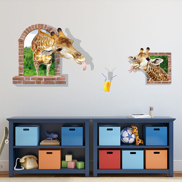 Sea Aquarium Dolphin 3d Wall Stickers Creative Wall Poster For Kids Rooms Different Colours