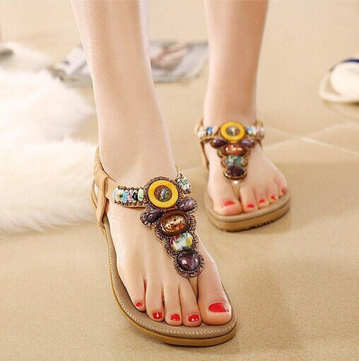 Boho Beach Summer Sandals - HAYKU