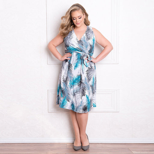Plus Size Lindsey Dress - HAYKU