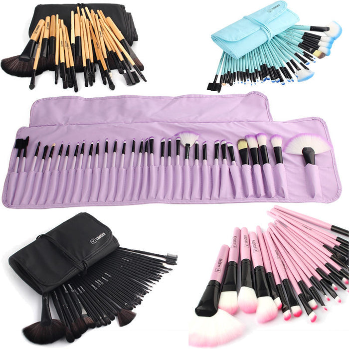 Soft Makeup Brushes Set (32 PCs) - HAYKU