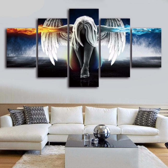 Angel Canvas Art Wall - HAYKU