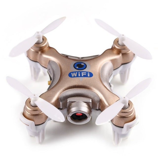 NanoDrone WifiCam. 6-Axis Gyro RC Quadcopter WiFi Drone With Camera. FPV Mode Flying Camera - HAYKU