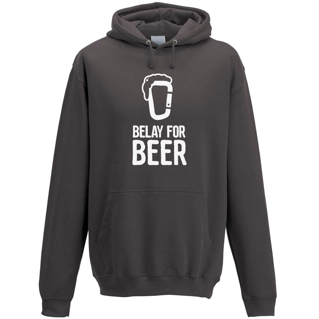 Belay For Beer Men's Hoodie