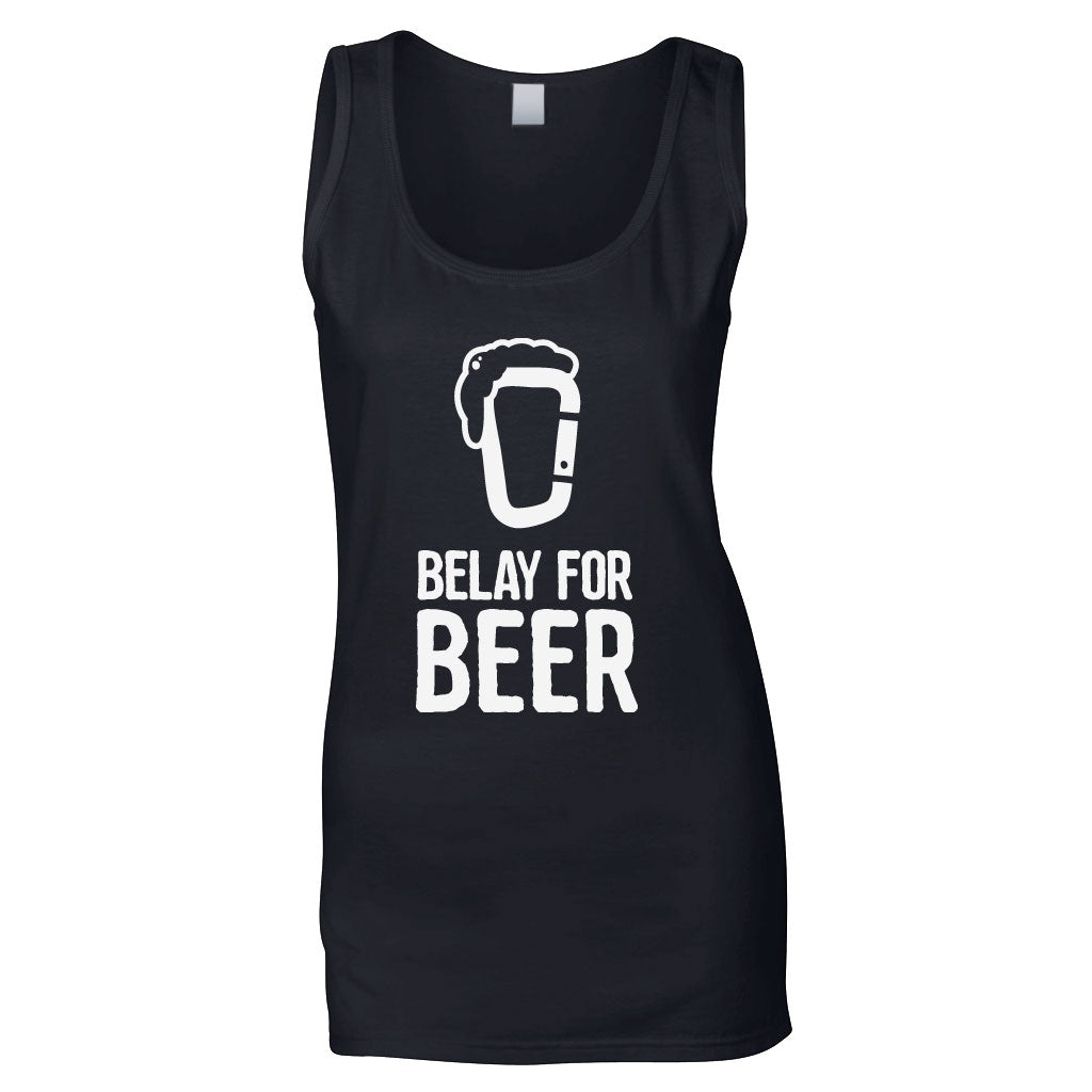Belay For Beer Women's Tank Top