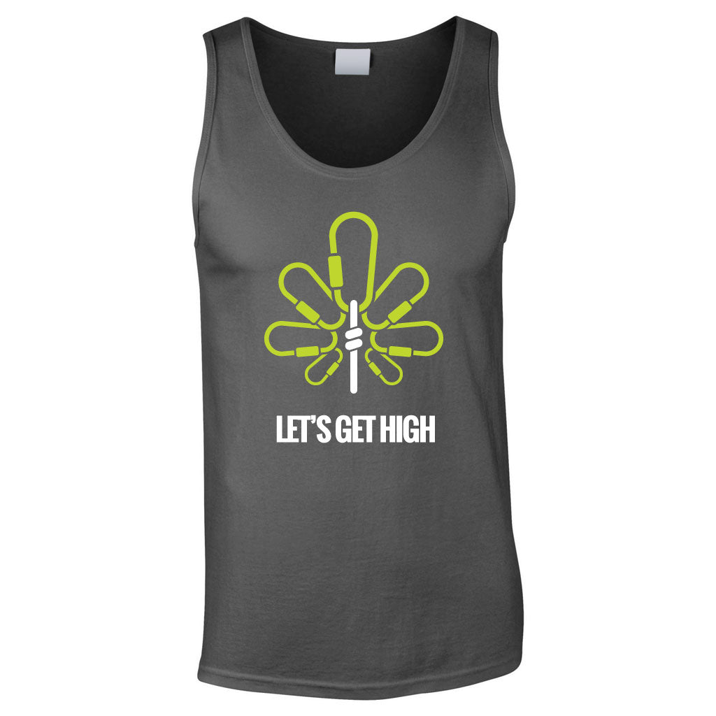 Let's Get High Men's Tank Top