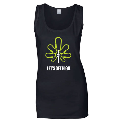 Let's Get High Women's Tank Top