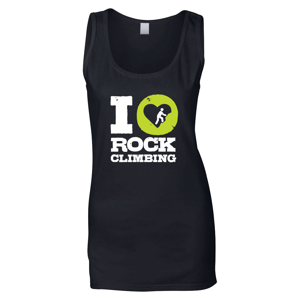 I Love Climbing Women's Tank Top